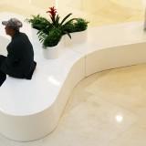 甘肃商场花盆座椅