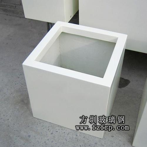 方形玻璃钢花盆生产厂家