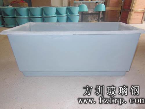 方圳玻璃钢花槽工厂生产图