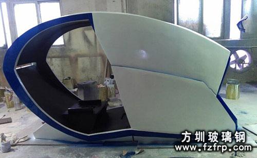 玻璃钢机壳工厂图
