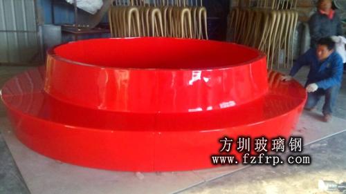 安丘玻璃钢圆形座椅