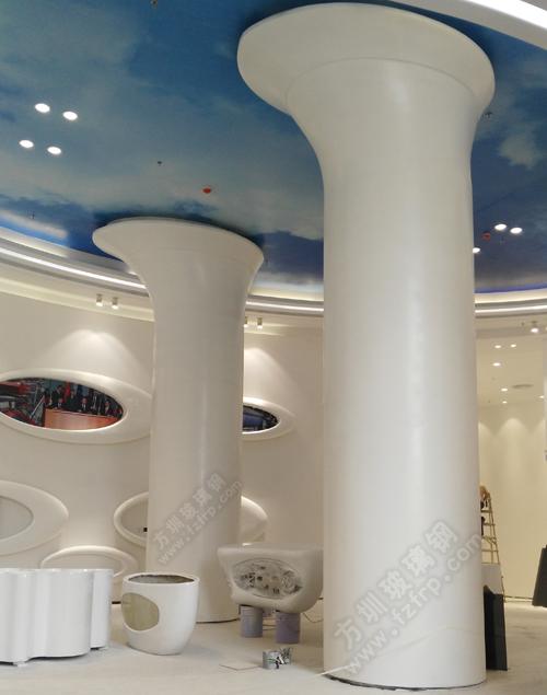 玻璃钢装饰柱