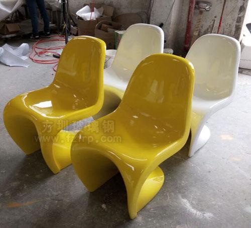 玻璃钢潘东椅工厂生产图