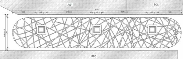 海南机场玻璃钢天花吊顶平面图