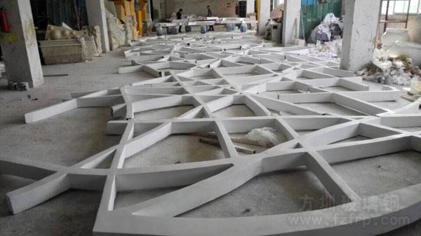 海南机场玻璃钢天花吊顶工厂成品图