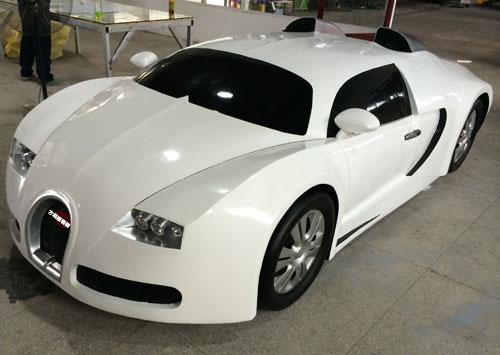 玻璃钢跑车模型