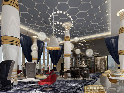重庆房地产方圳玻璃钢软装工程
