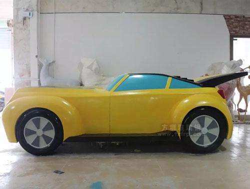 跑车玻璃钢模型