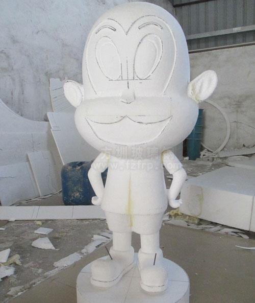 玻璃钢生肖猴泡沫模型雕塑