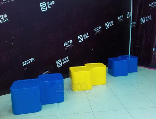 深圳商场玻璃钢坐凳