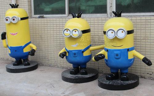 北京商场玻璃钢卡通雕塑