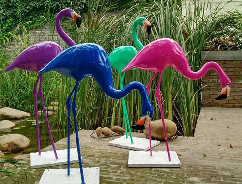 仿真动物雕塑-丹顶鹤