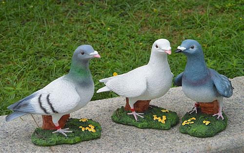 仿真鸽子雕塑