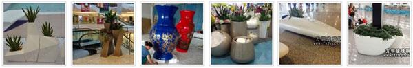 室内装饰玻璃钢花盆批发价格要多少钱?