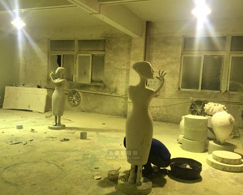 美陈形象雕塑玻璃钢工艺品