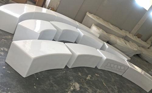 山东玻璃钢弧形座凳