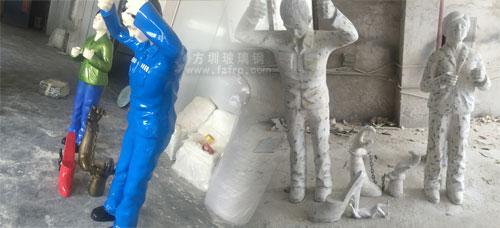 北京玻璃钢反腐主题雕塑