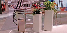 艺术玻璃钢花缸美陈佛山中海环宇城购物中心