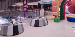 玻璃钢座椅高端家具佛山中海环宇城批量采购