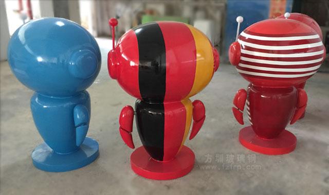 广州玻璃钢卡通公仔工厂产品展示图