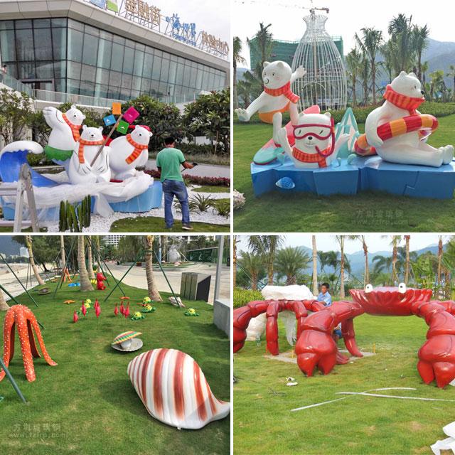 巽寮湾海滨城市景观雕塑