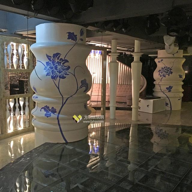 安丘玻璃钢造型装饰柱定制