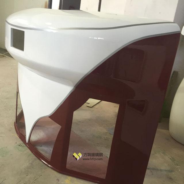 方圳玻璃钢机车外壳让龙岗车企改造更个性化
