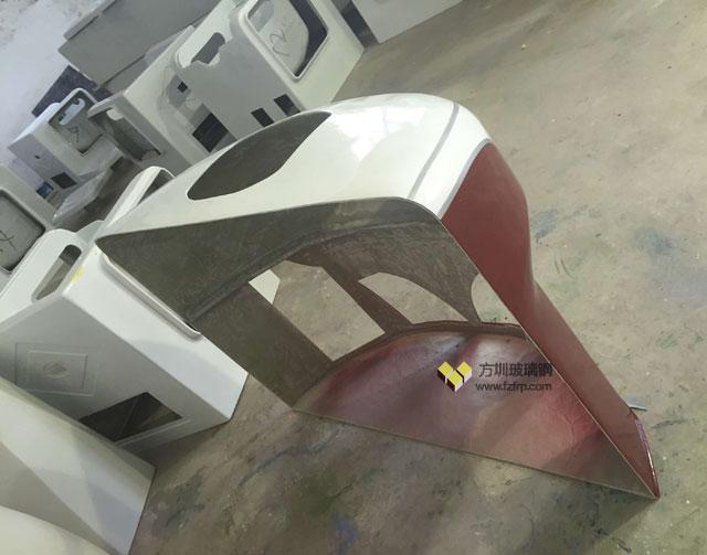 龙岗车企个性化定制的玻璃钢机车外壳工厂生产图