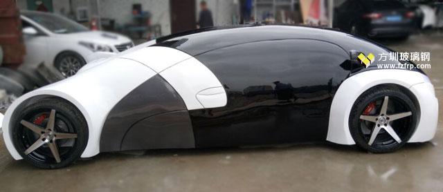 国际车展定做玻璃钢车模工厂生产图
