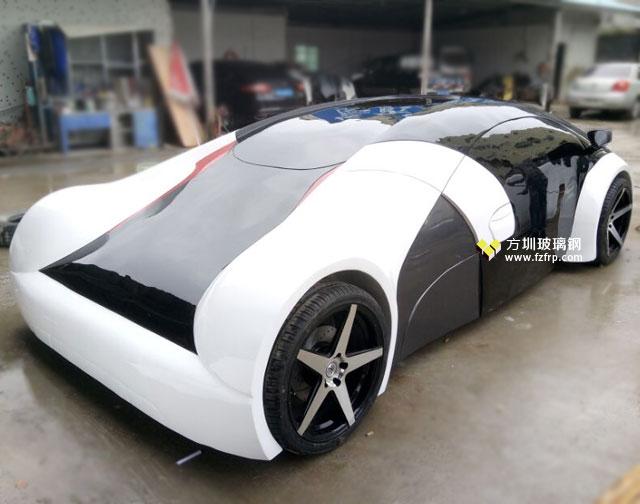 哈萨克斯坦国际车展定做玻璃钢车模工厂生产图