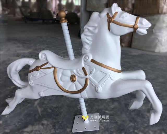 玻璃钢马雕塑摆件装饰香港品牌化妆品店