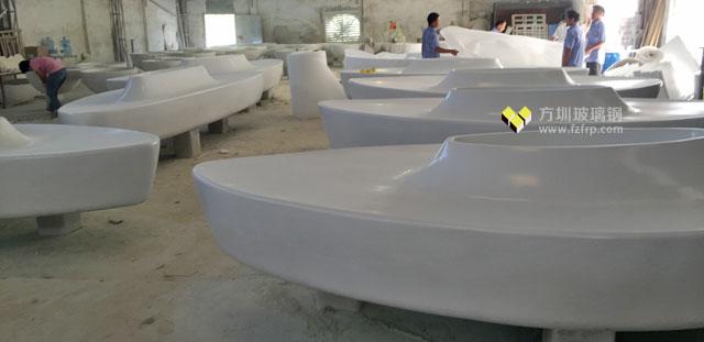 陕西商场大型玻璃钢花盆工厂批量生产图