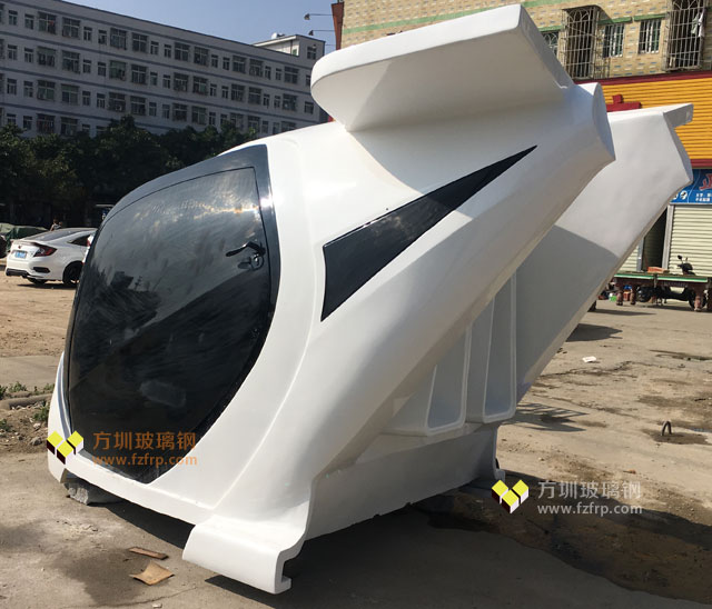富士康飞船造型玻璃钢VR设备外壳喷汽车专用漆高档耐用
