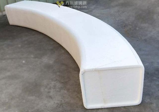 海南免税购物中心玻璃钢弧形坐凳工厂模型图