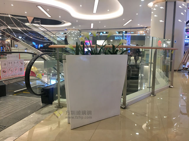 S型玻璃钢室内花盆
