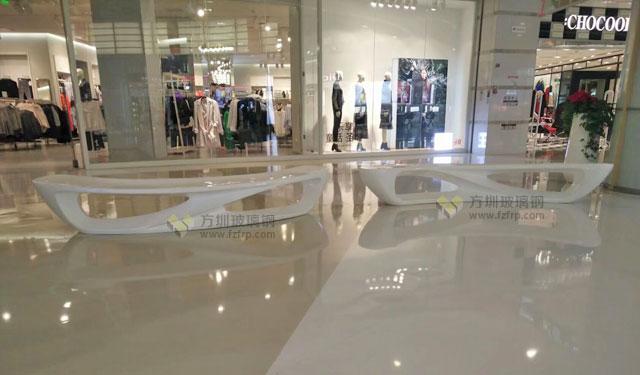 安徽购物广场玻璃钢月亮造型休闲椅各楼层摆放图