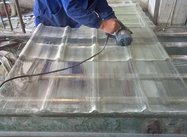 玻璃钢波形板制作原材料及工艺配方参数