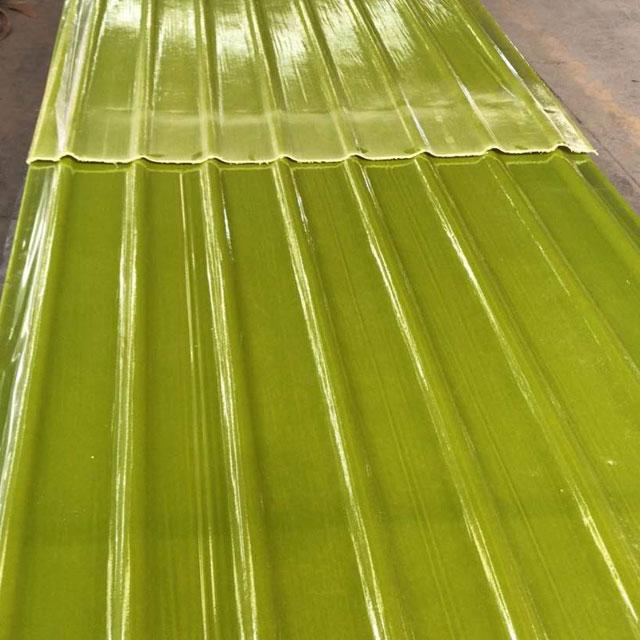 玻纤制品连续制板成型工艺