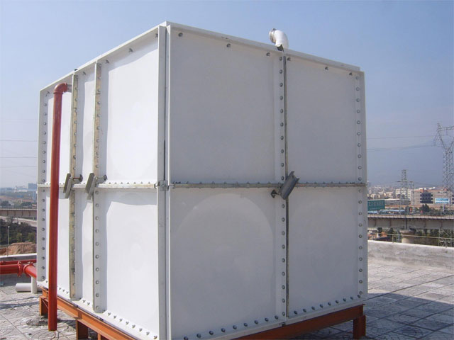 smc玻璃钢水箱的安装步骤