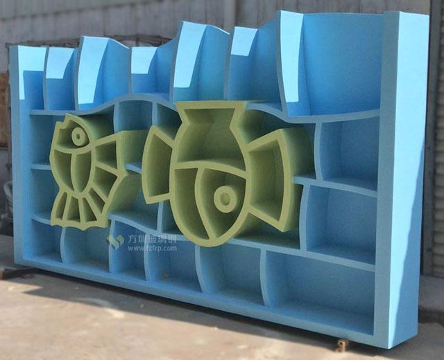 玻璃钢动物造型书架海南南海博物馆定制