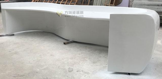 玻璃钢异形定制前台让上海企业更具特色