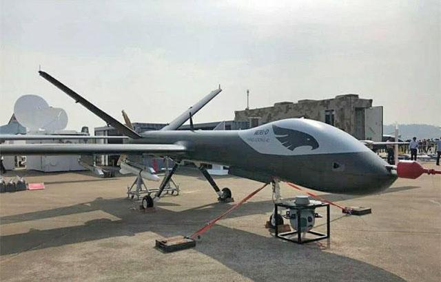 中国全复材无人机面世性能优越用途广