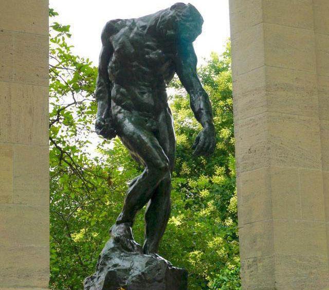 雕塑家罗丹介绍及作品集欣赏