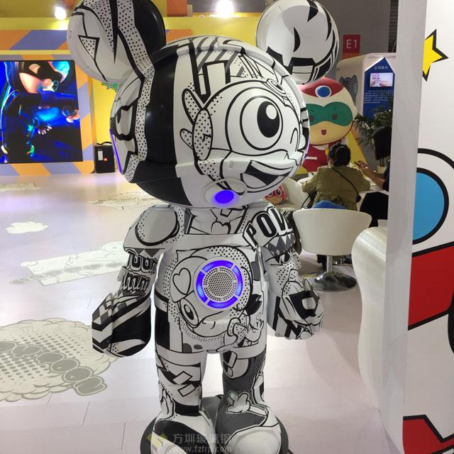 2018年上海lP授权展玻璃钢动漫卡通雕塑