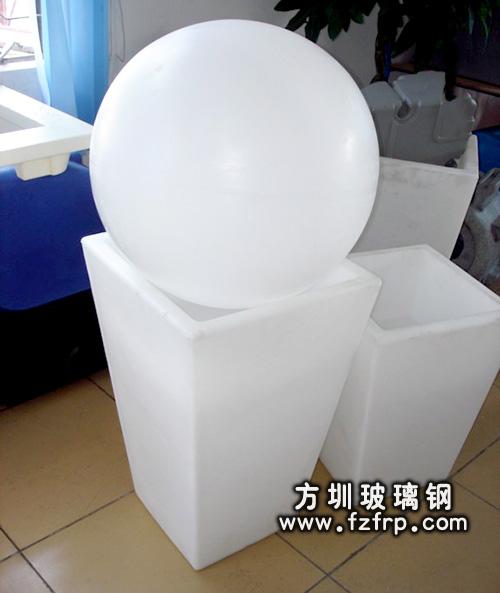 玻璃钢室内花盆HP-016