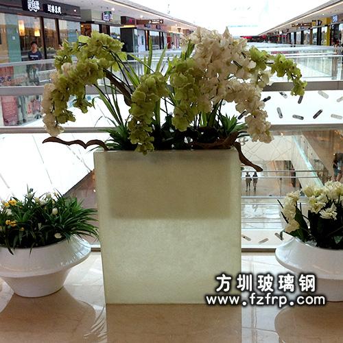 玻璃钢室内花盆HP-010