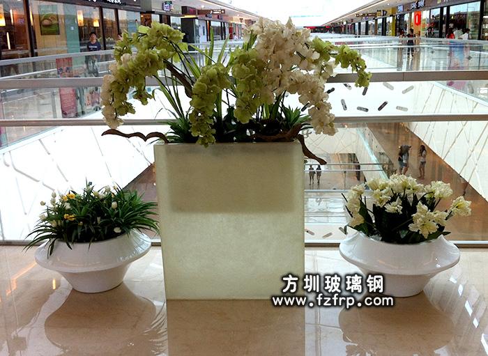 玻璃钢室内花盆HP-071