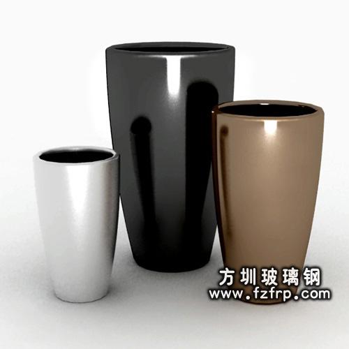 玻璃钢室内花盆HP-070-2