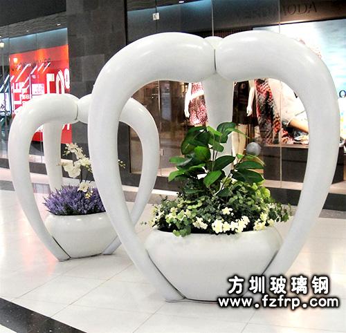 玻璃钢室内花盆HP-068