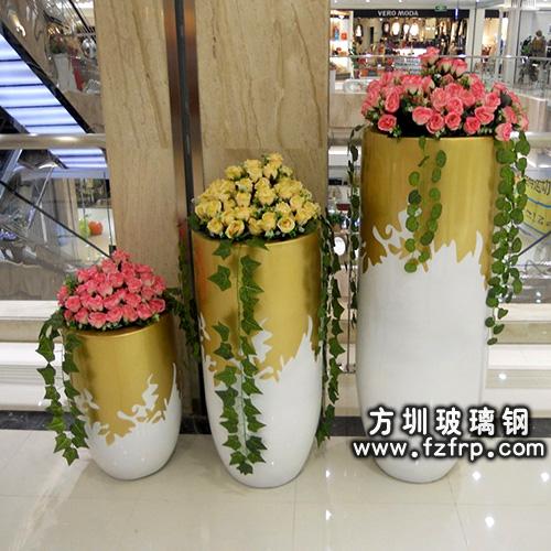 玻璃钢室内花盆HP-066